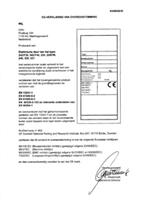CE-verklaring elektrisch bediend