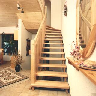 Zoeksnoek bovenkwart hoograven trappenfabriek b v for Looplijn trap